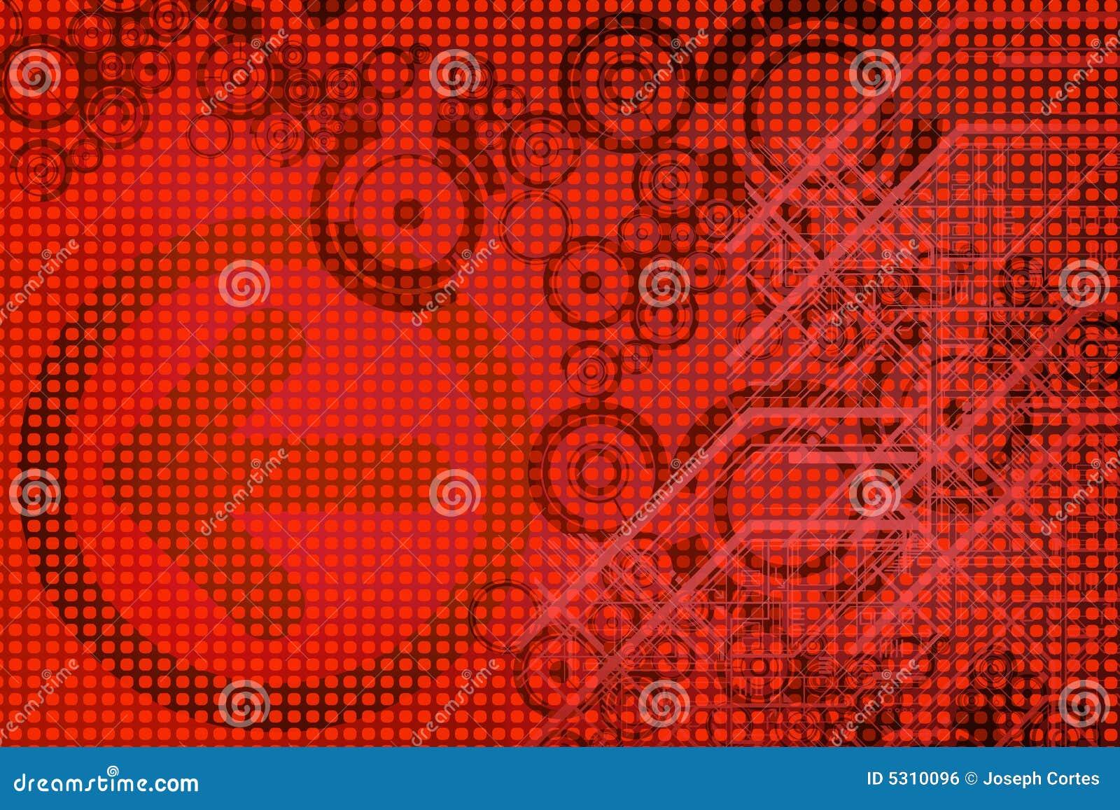 Download Disegno rosso illustrazione di stock. Illustrazione di puntini - 5310096