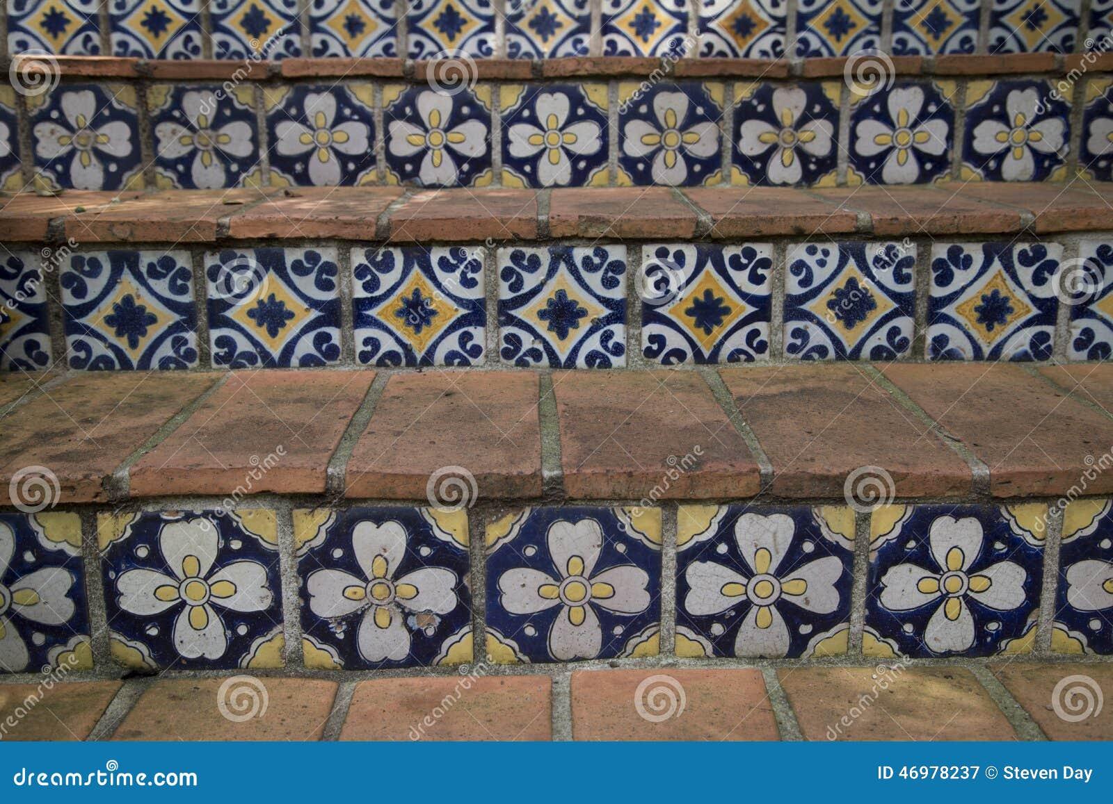 Dise o bonito de un fondo floral de la escalera de la - Diseno de fotos ...