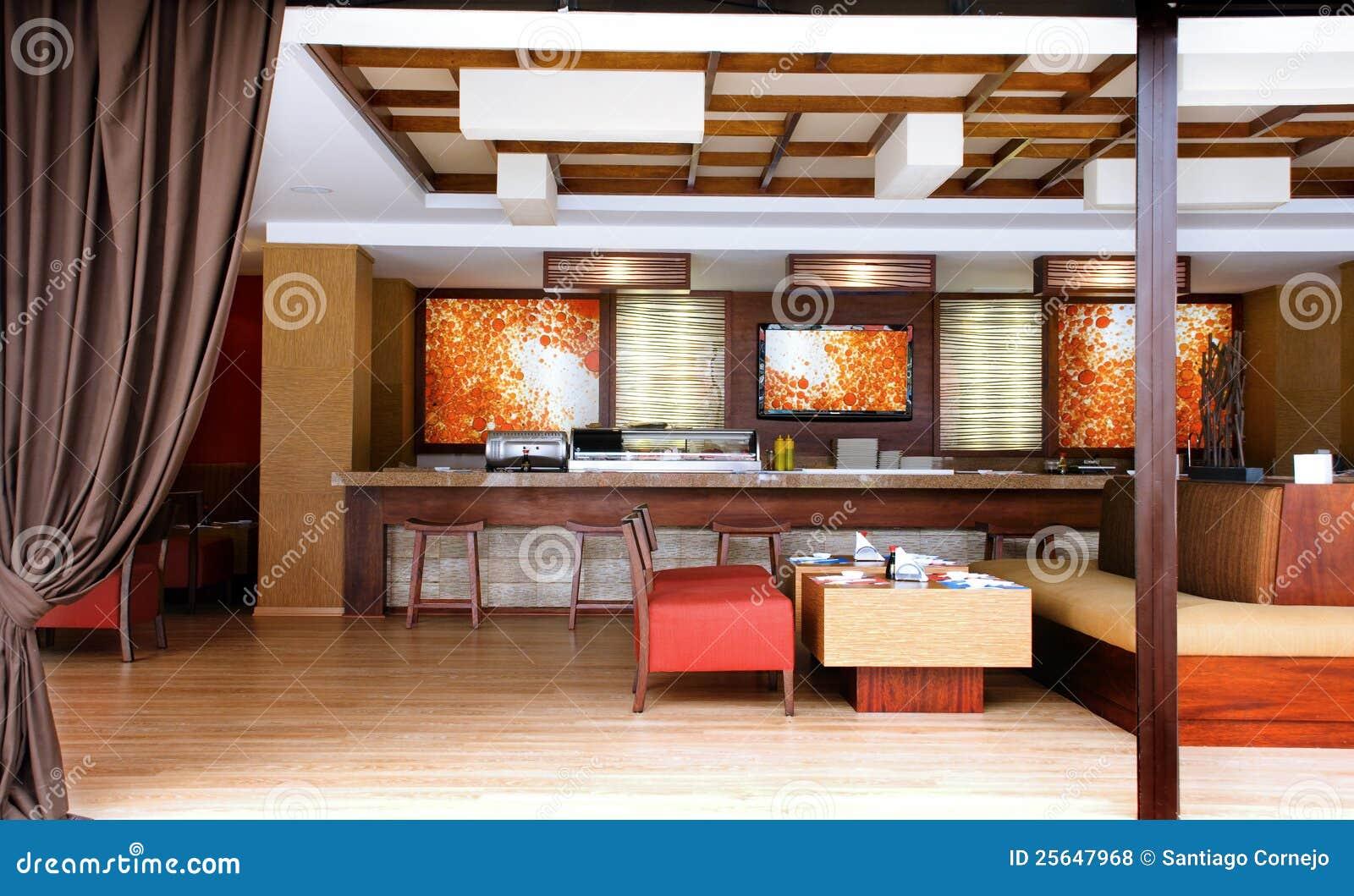 Dise O Interior Restaurante Fotos De Archivo Libres De