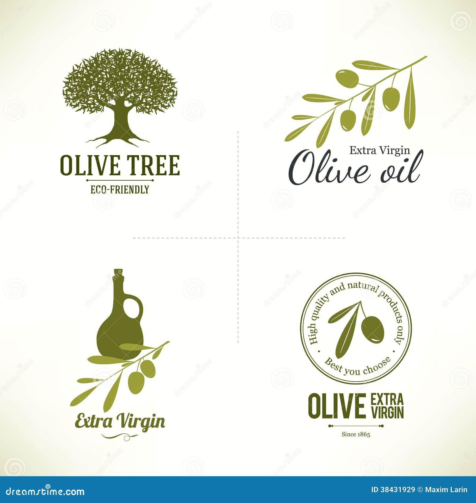 Dise o verde oliva de las etiquetas im genes de archivo for Diseno de etiquetas