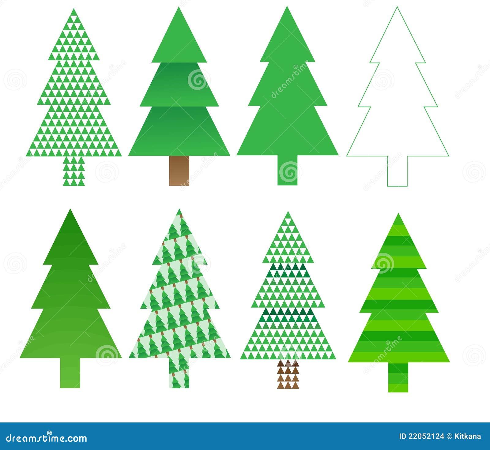 Dise os del rbol de navidad imagenes de archivo imagen - Diseno de arboles de navidad ...