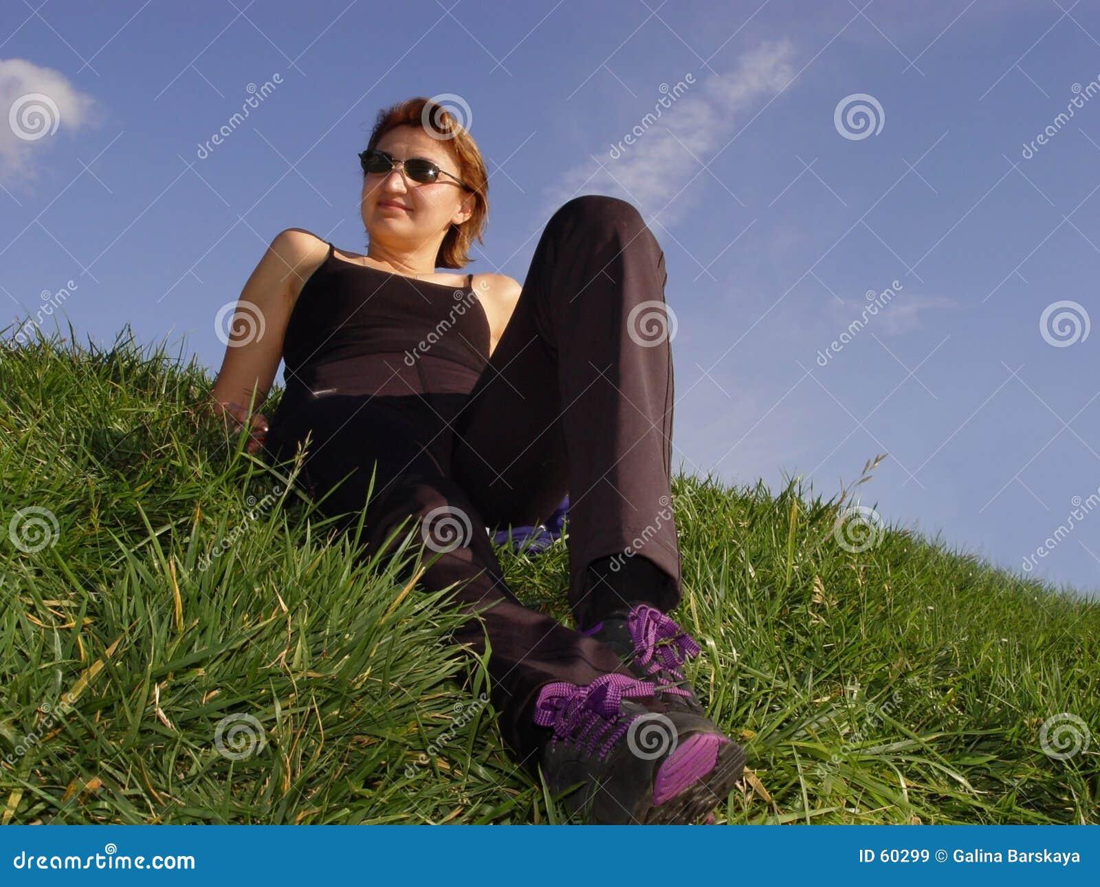 Disfrutando de la vida al aire libre