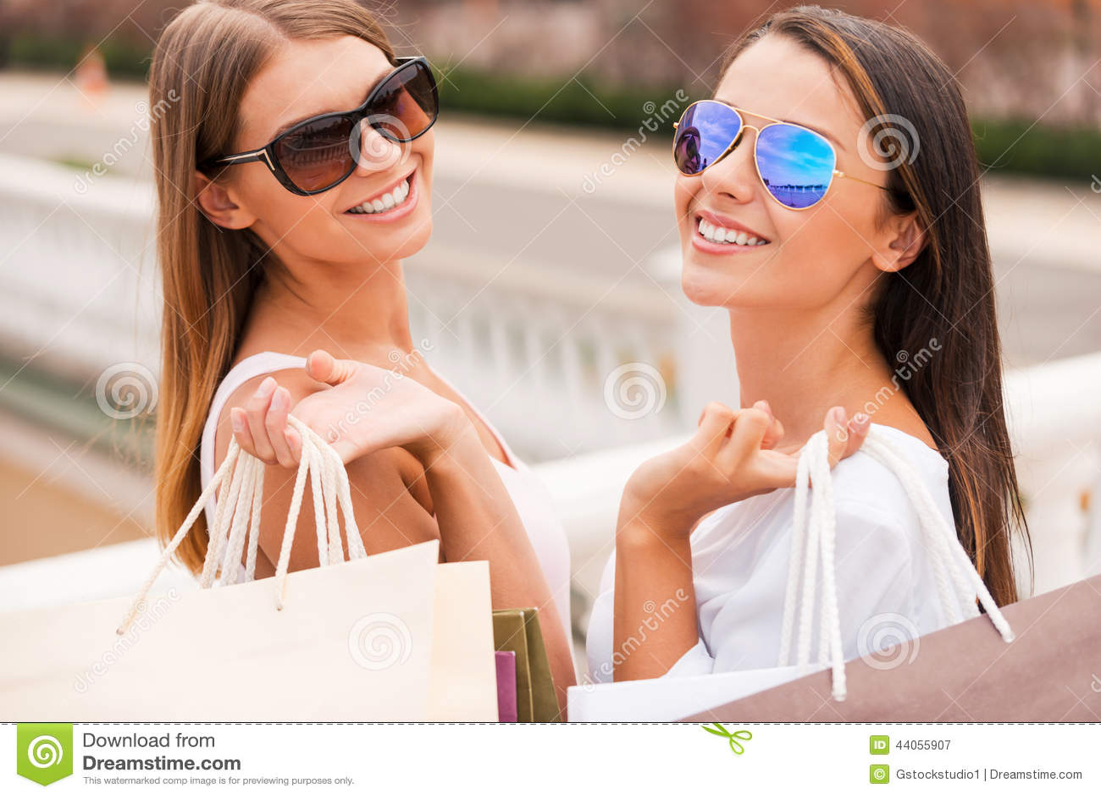 Disfrutar de las compras del día