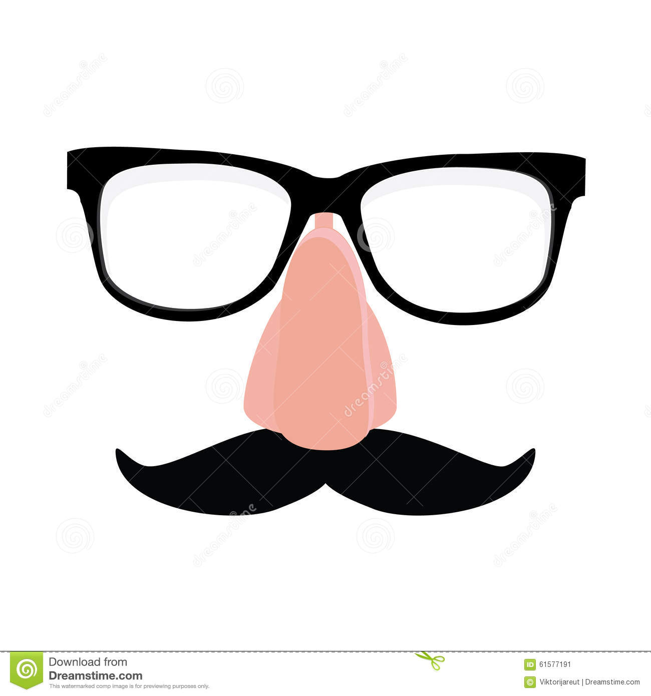 disguise glasses  nose and mustache stock illustration clip art mustache black clip art mustache no background