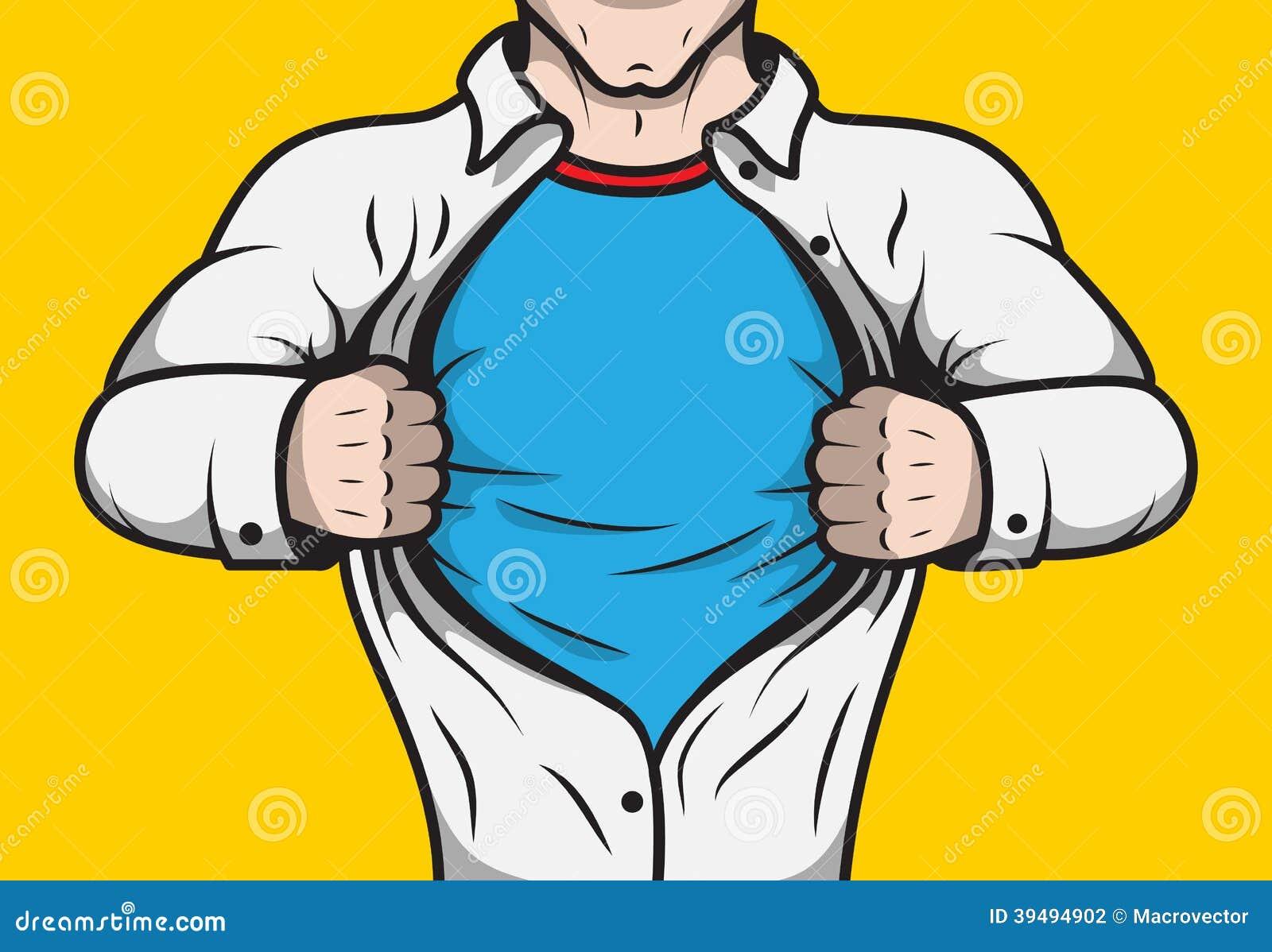 disguised comic book superhero illustration 39494902 megapixl