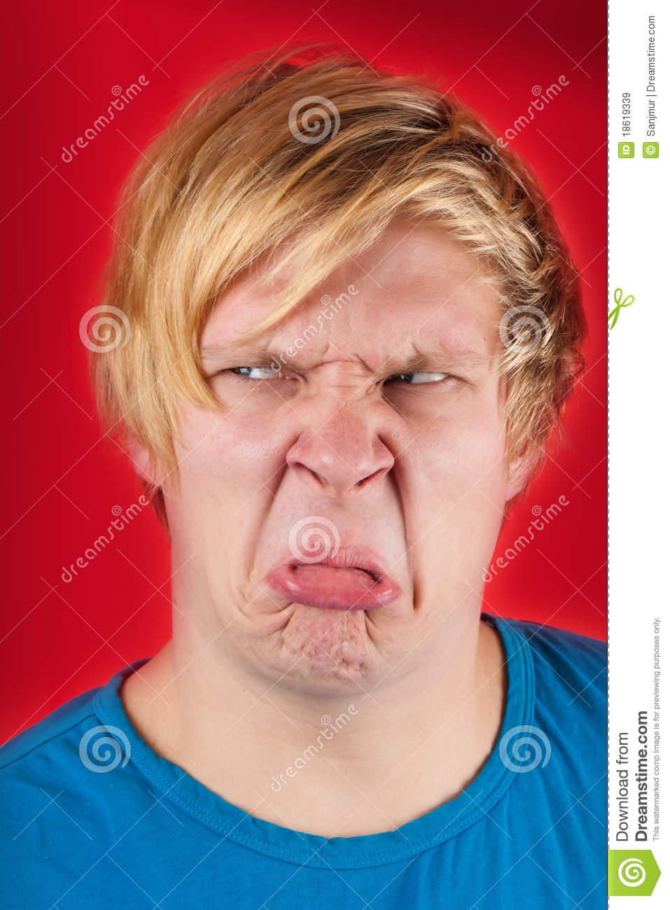Disgusted Royalty Free Stock Images - Image: 18619339
