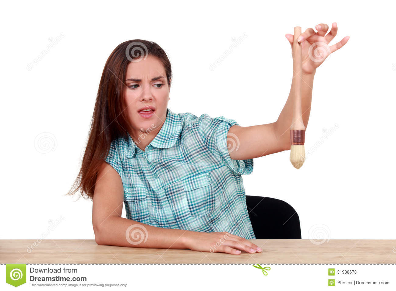 Disgusted Woman Royalty Free Stock Photos Image 31988678