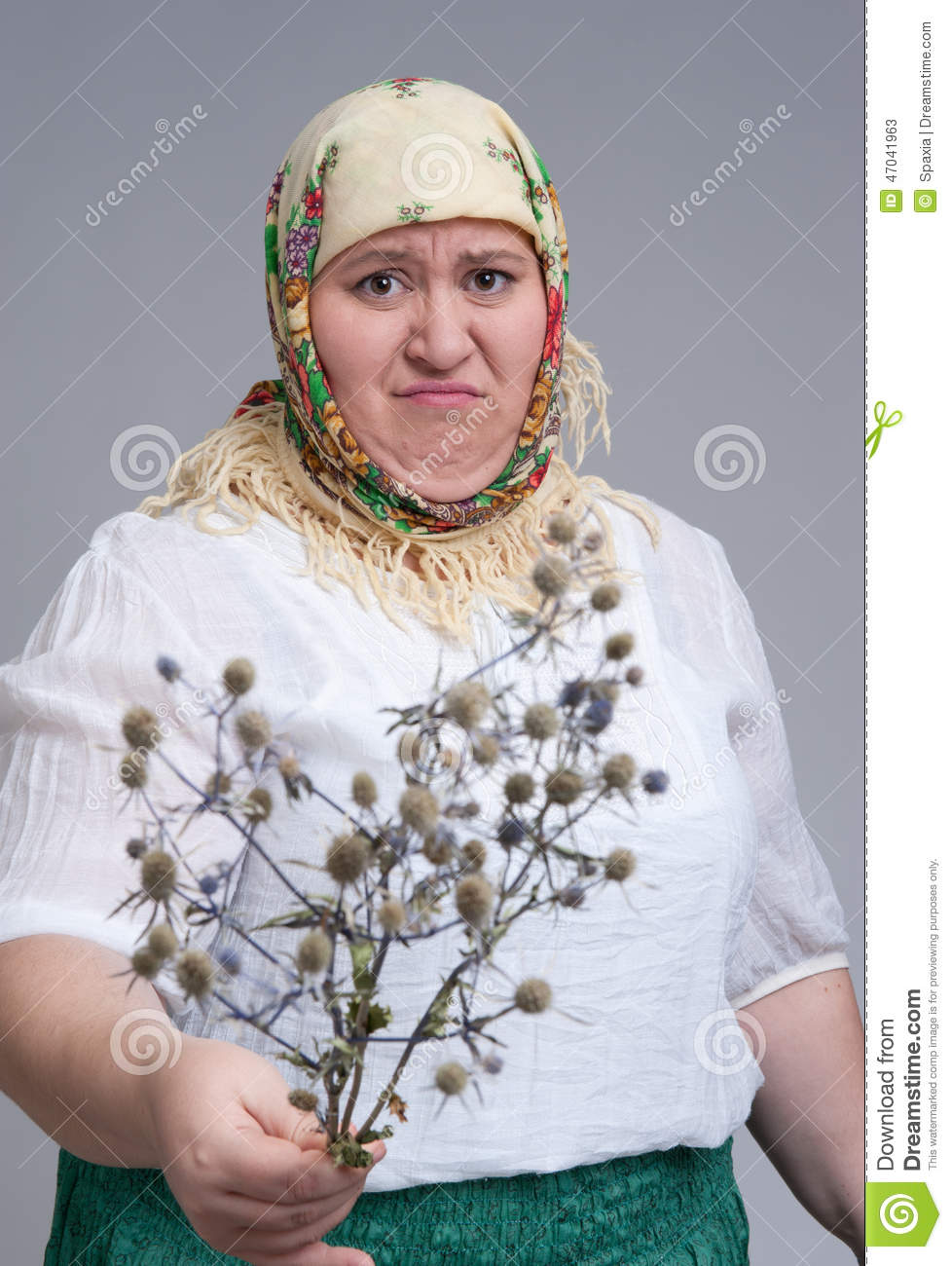 Disgusting woman stock image. Image of young, caucasian ...