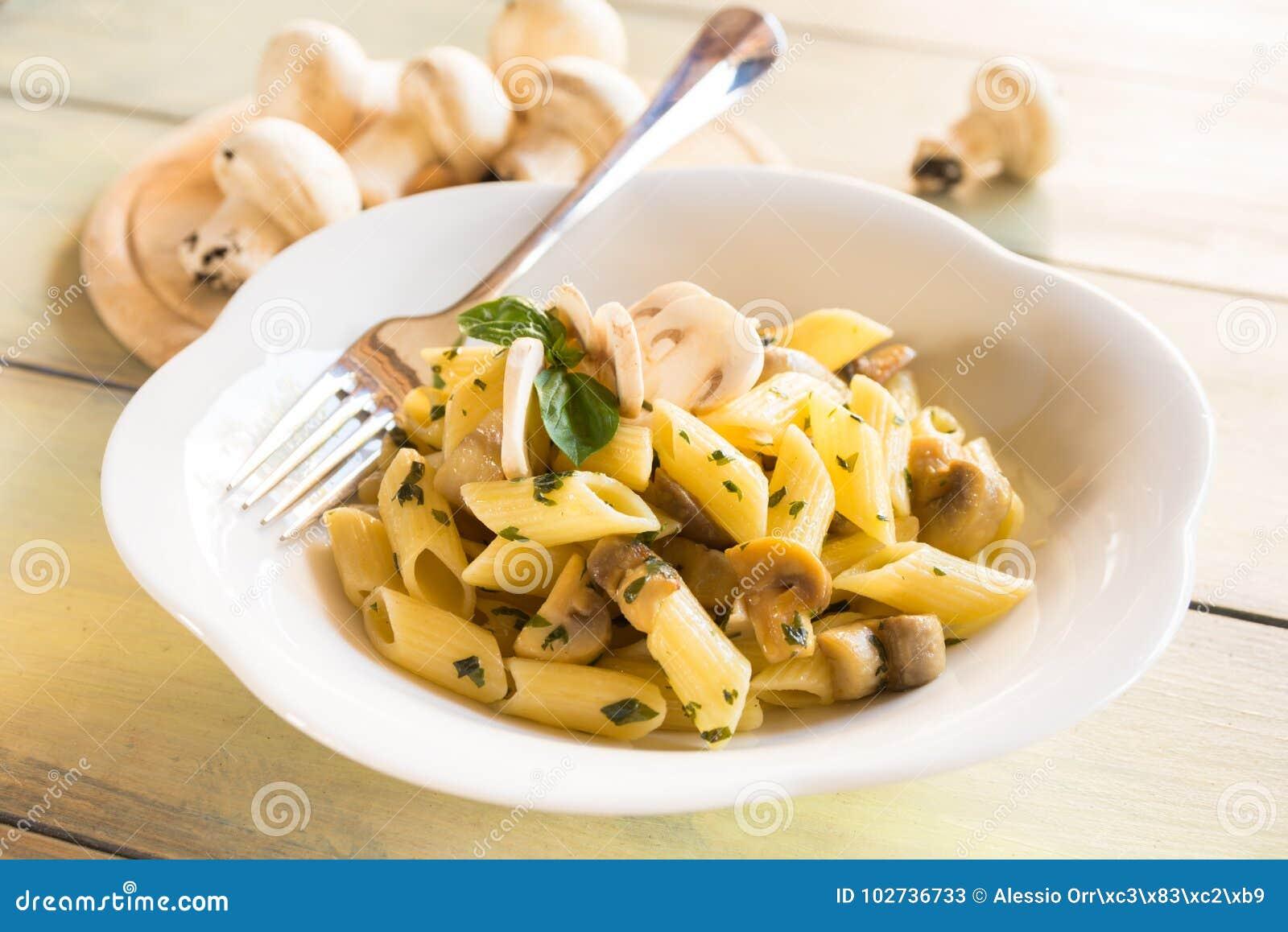pasta champignon