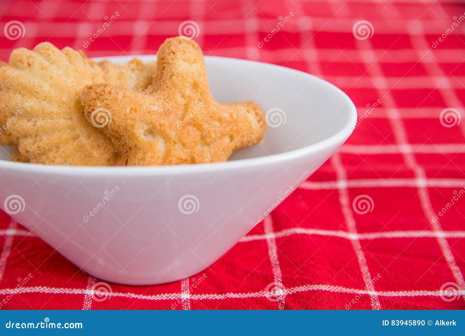 Dish Of Norwegian Christmas Cookies Stock Photo Image Of Dessert