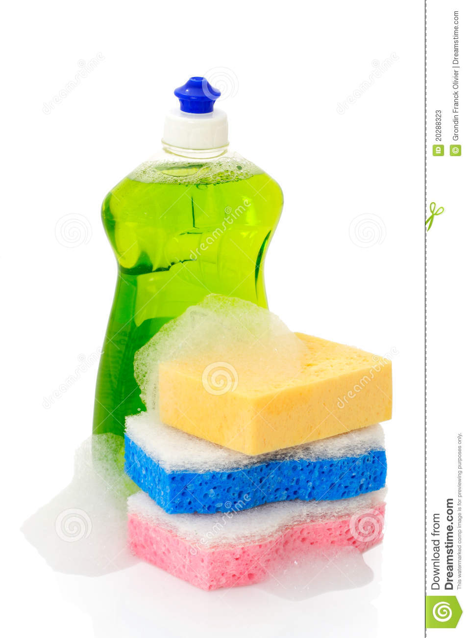 Dish Soap And Sponges Stock Photos - Image: 20288323