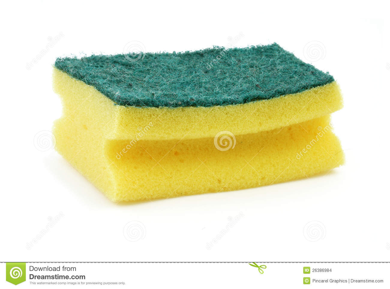 Dish Washing Sponge Stock Images - Image: 26386984
