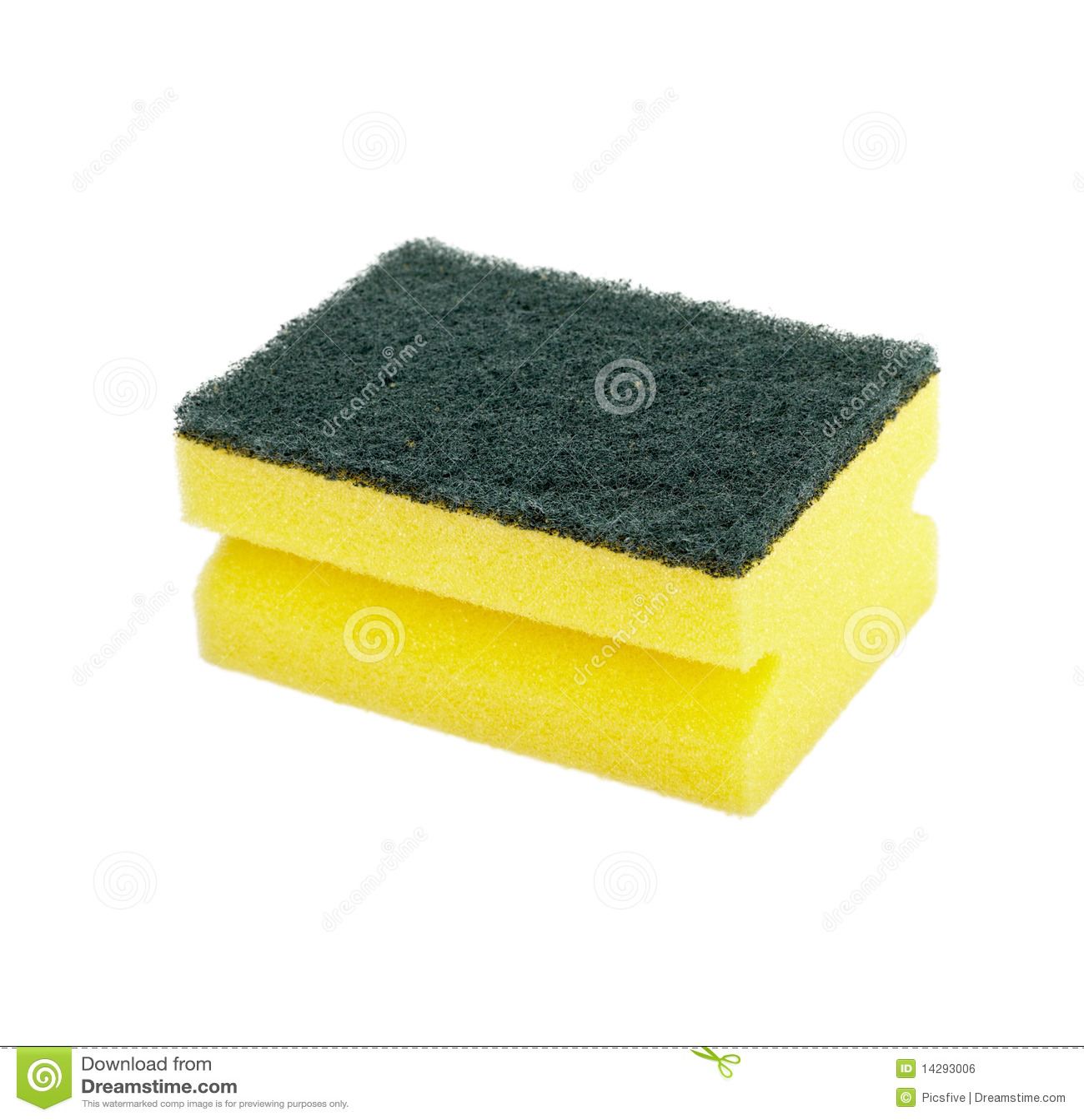 Kitchen utensil clip art - Dish Washing Sponge Foam Royalty Free Stock Image Image