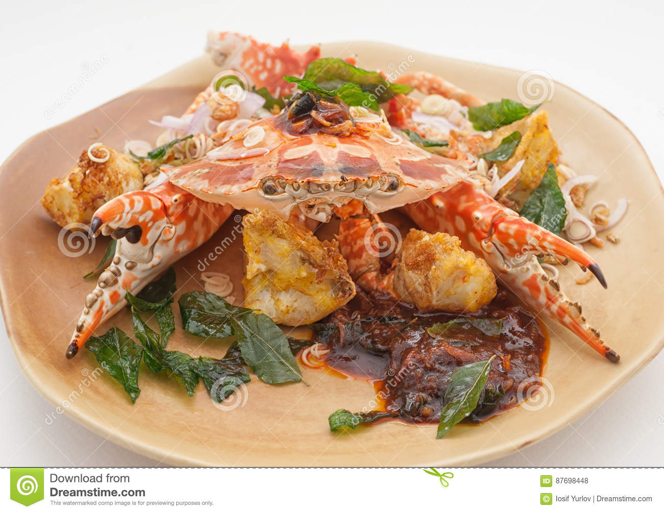 Dishes Of Thailand And China International Cuisine Stock Photo