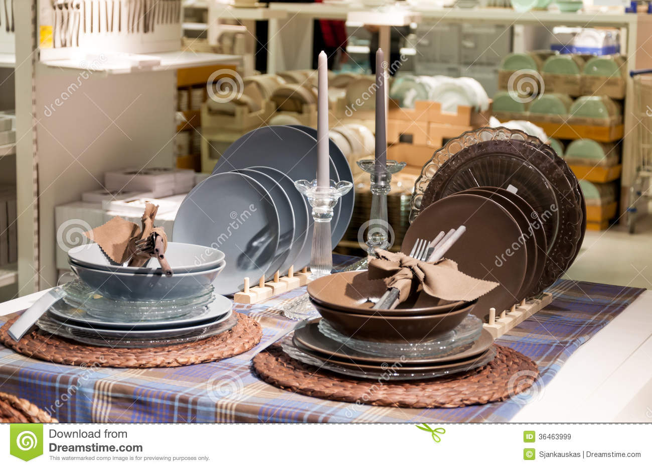 Dishware And Home Decor Store