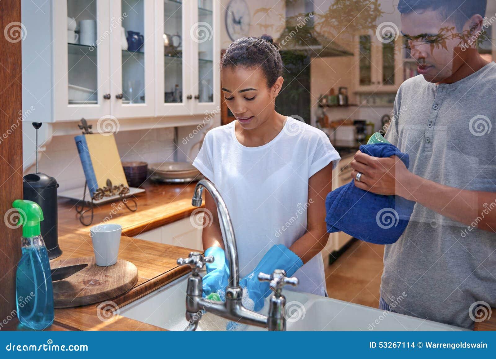 Dishwashing para