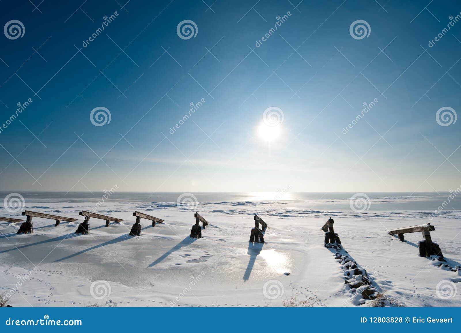 Disjuntores de gelo no inverno