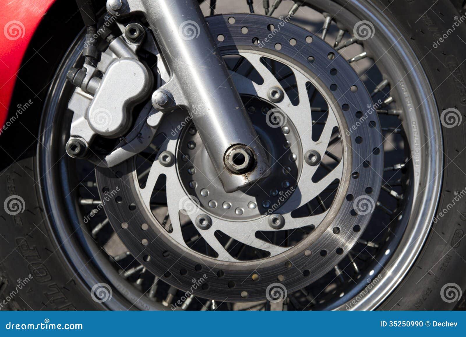 Disk Brake Stock Photo Image Of Machine Transport Tire 35250990