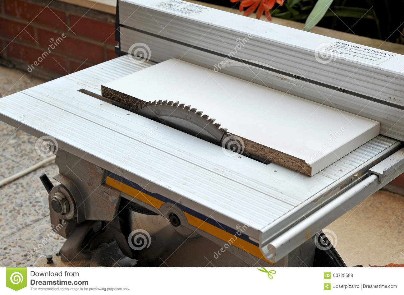 Disk Power Saw Woodworking Power Tools Stock Photo Image Of