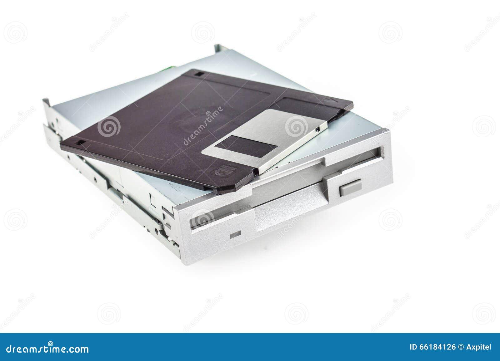 Disketteaandrijving en diskette