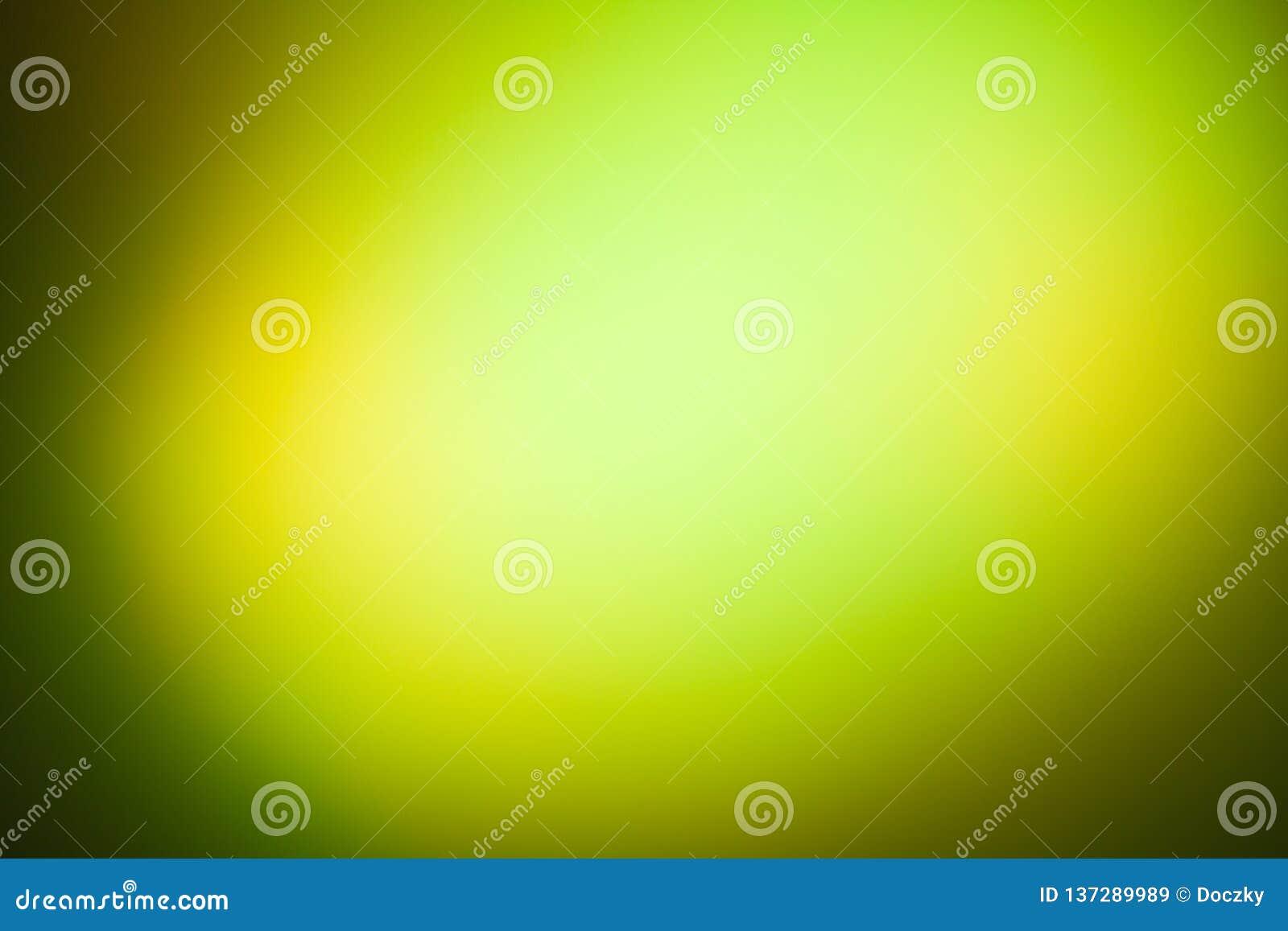 Diskoljuseffekt i grön och gul färg
