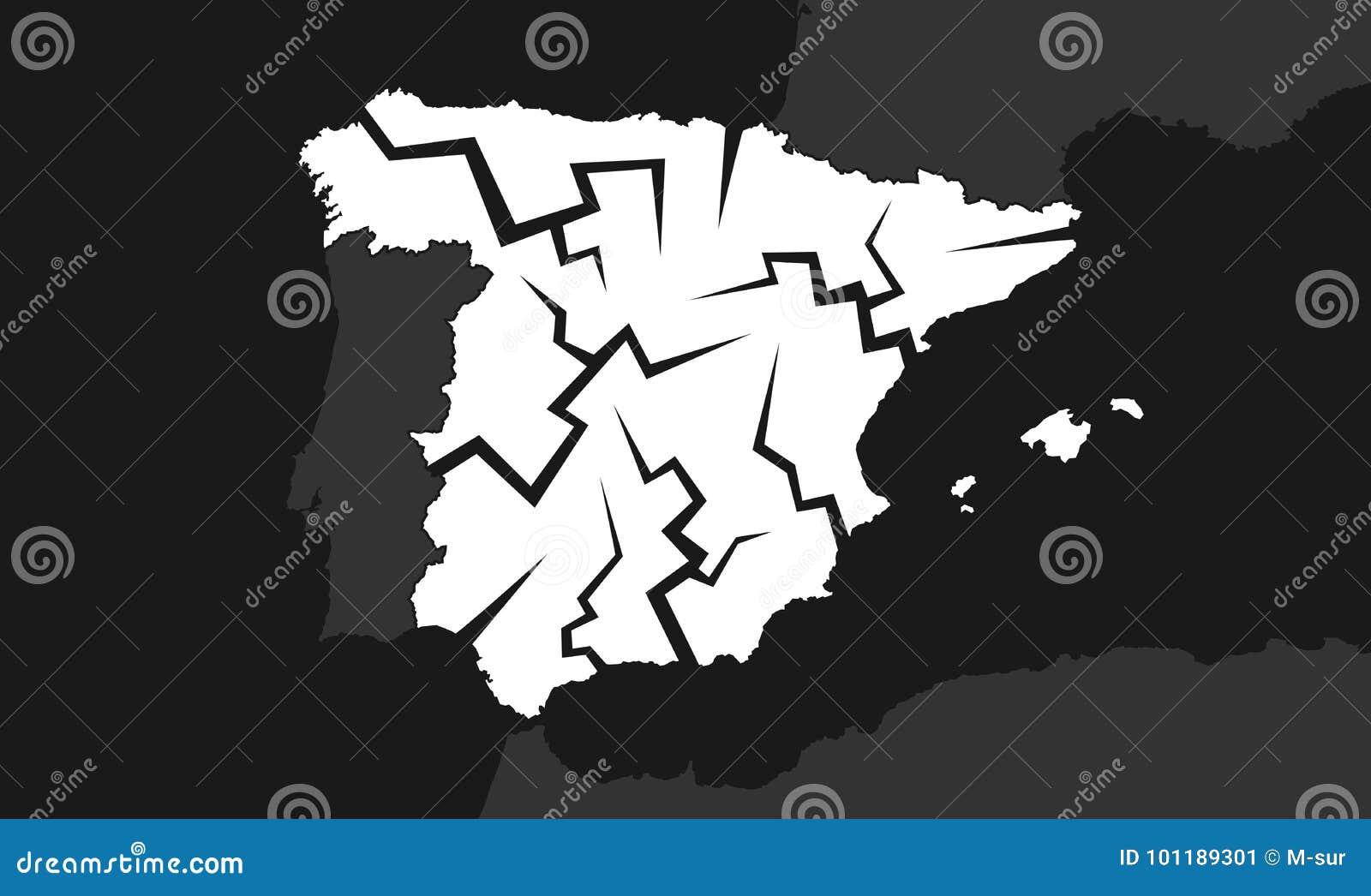 Disminución de España