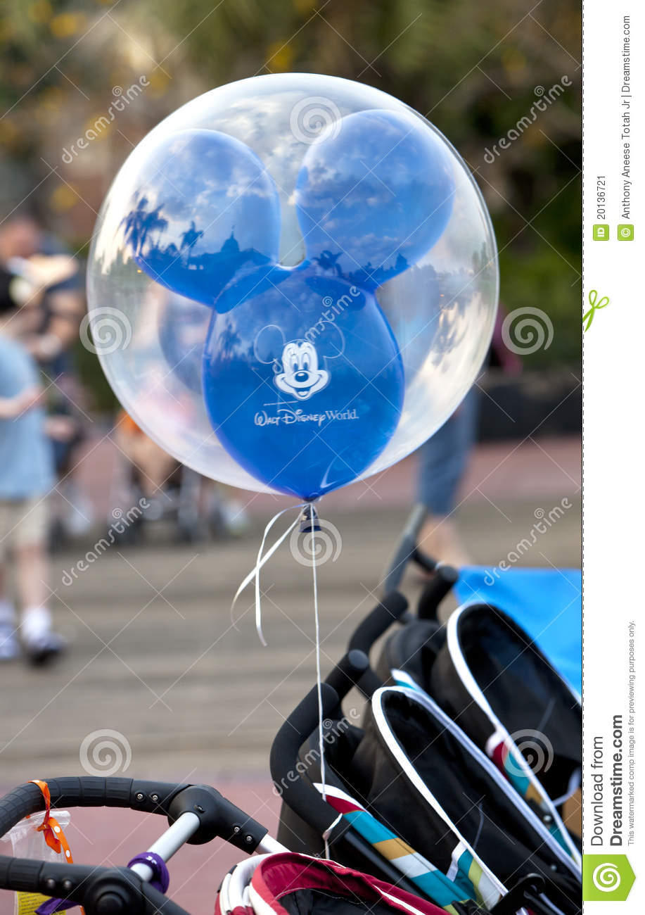 Disney Balloon Editorial Photo Image 20136721