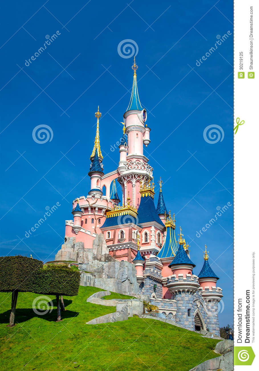 Disney castle disneyland paris paris france th march image disneyland