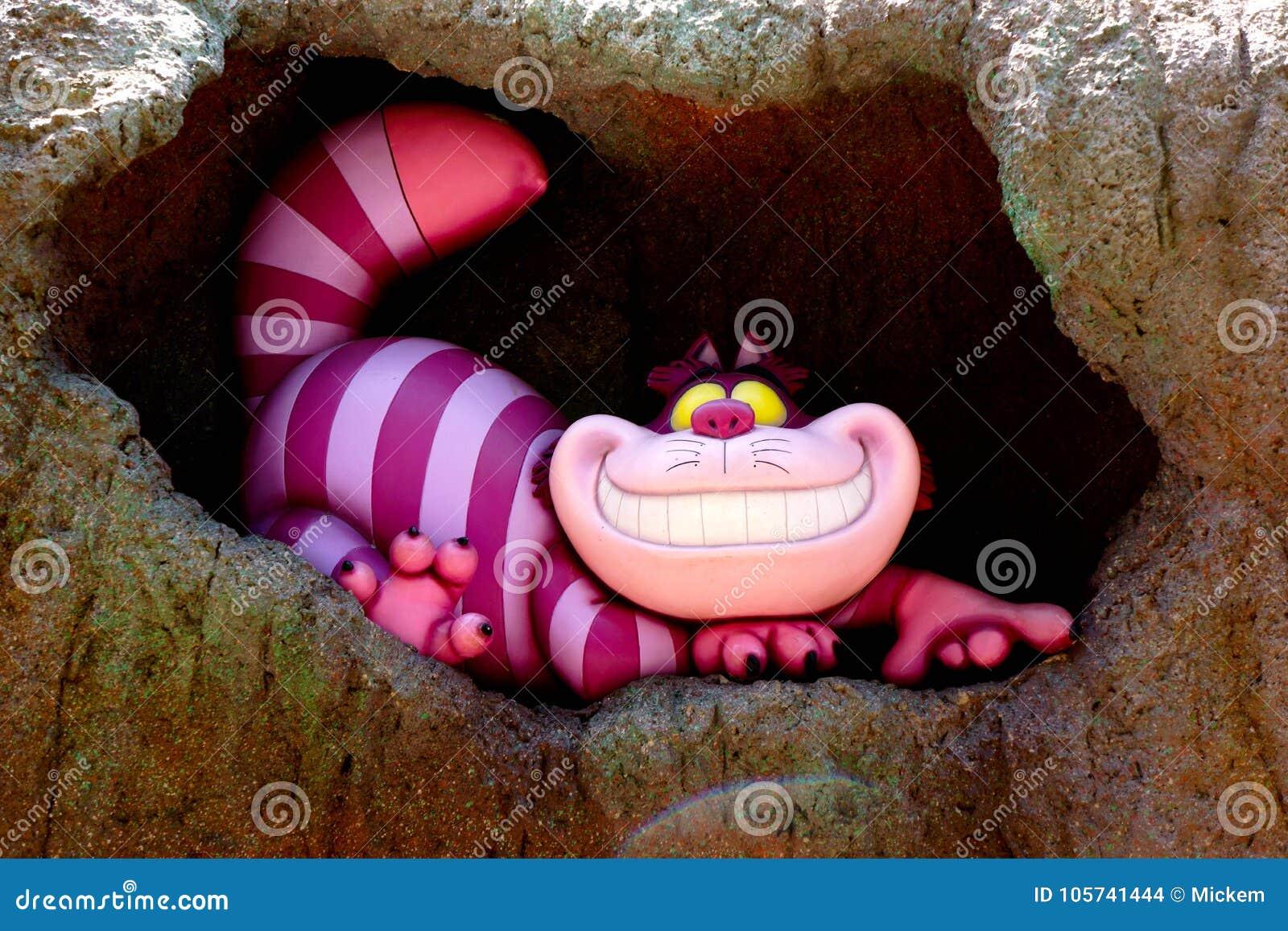 Disney Cheshire Cat Grinning