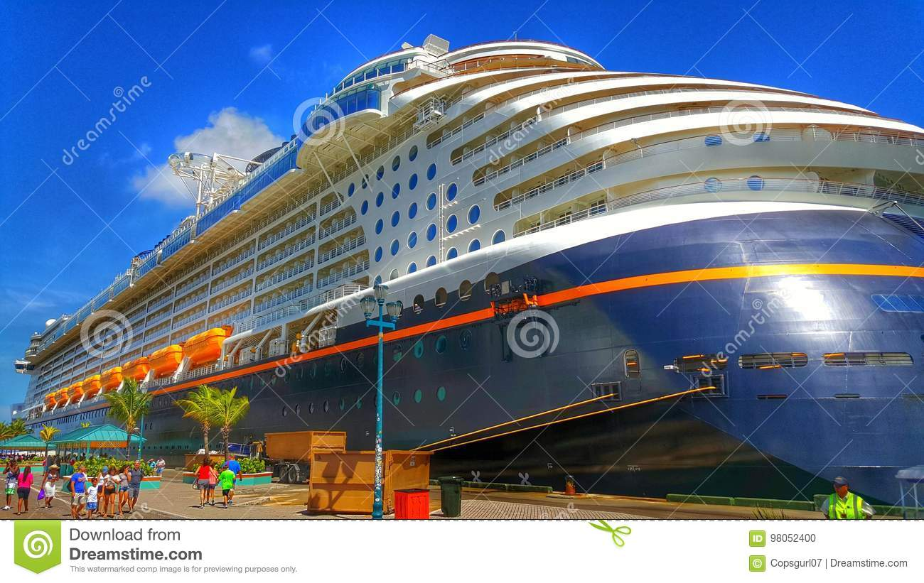 Disney Dream At Castaway Cay Editorial Image Image Of