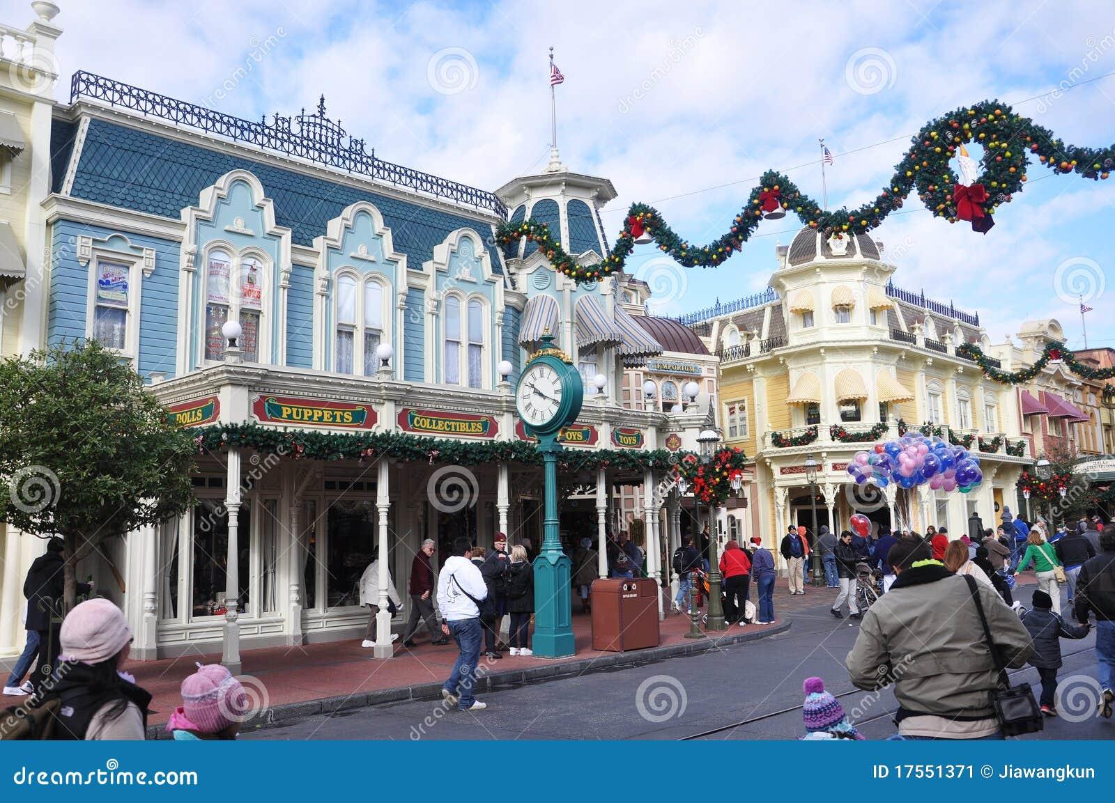Disney głównej ulicy walt świat
