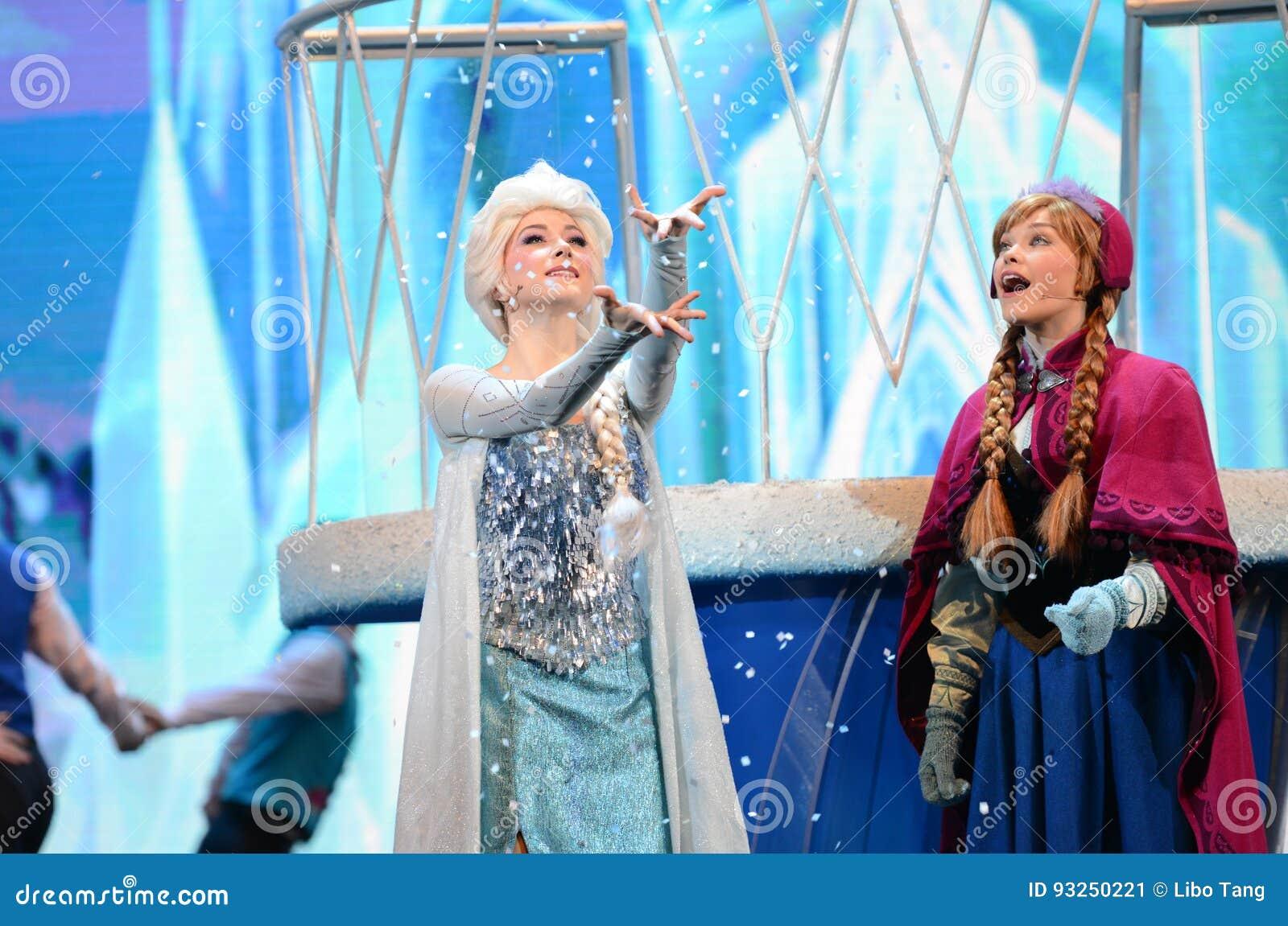 Disney Marznący Princess Elsa i Anna
