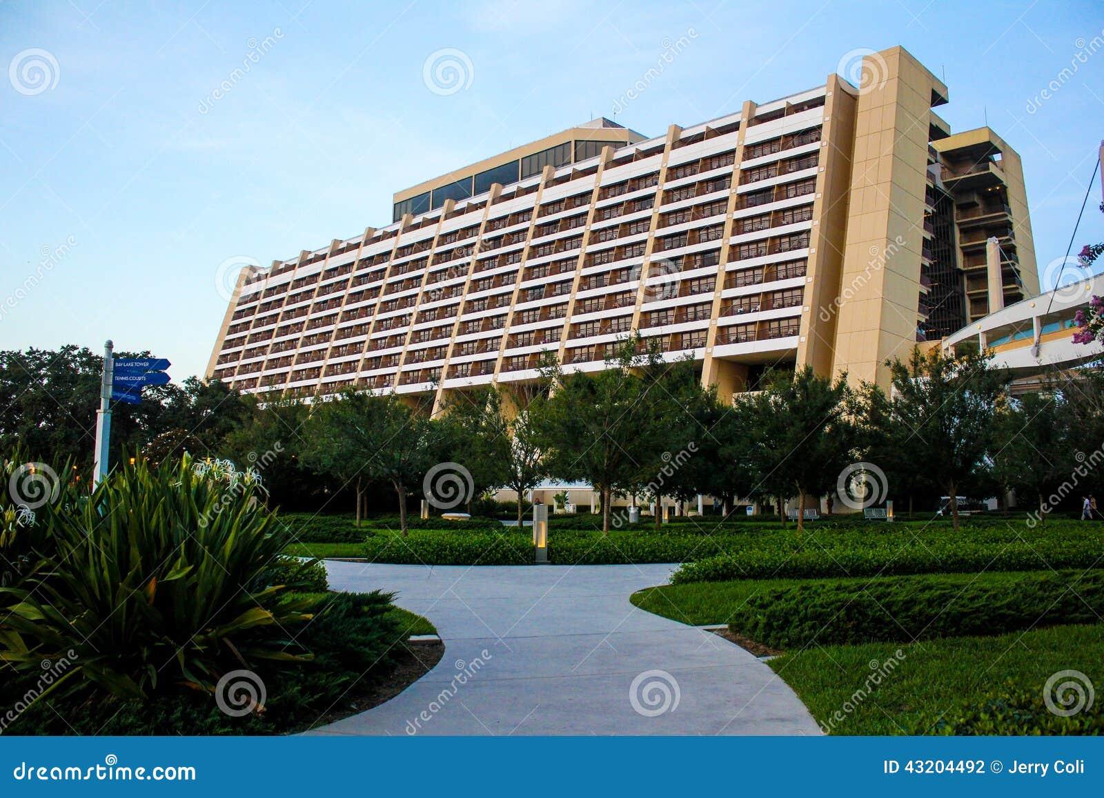 Download Disney Moderna Semesterort, Orlando, Florida Redaktionell Arkivbild - Bild av walt, orlando: 43204492