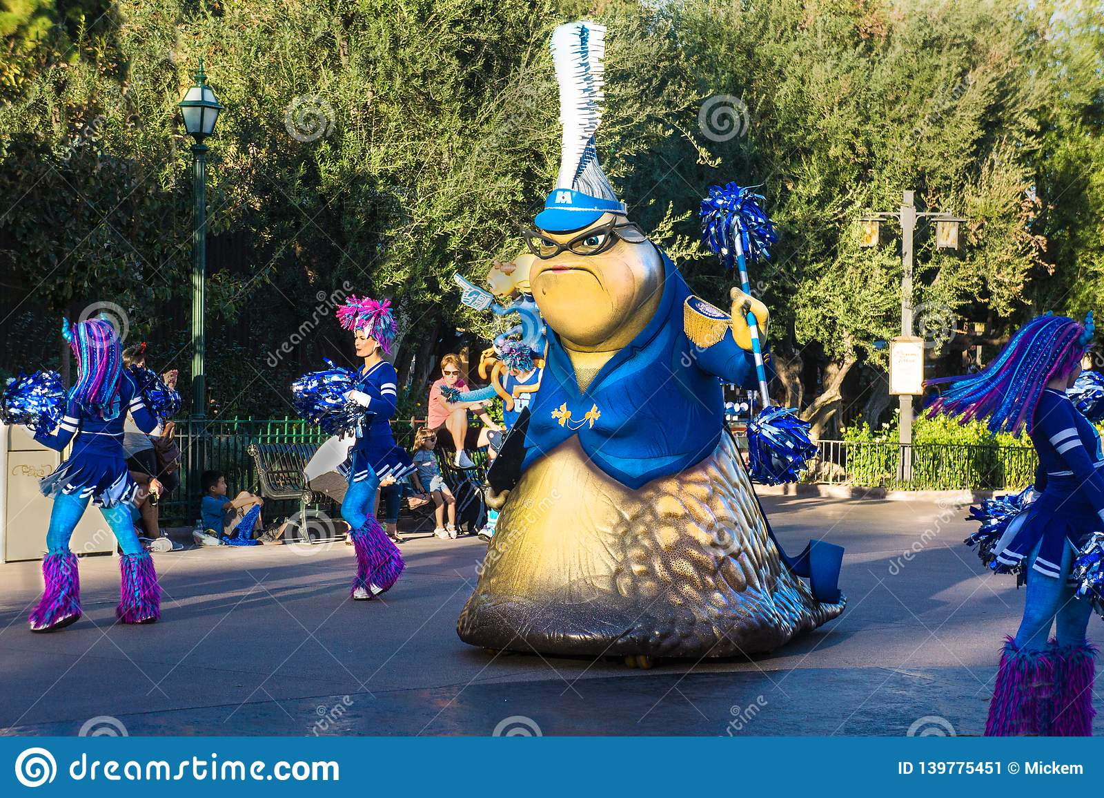 Disney Pixar Parade Monsters Inc Editorial Photo - Image of