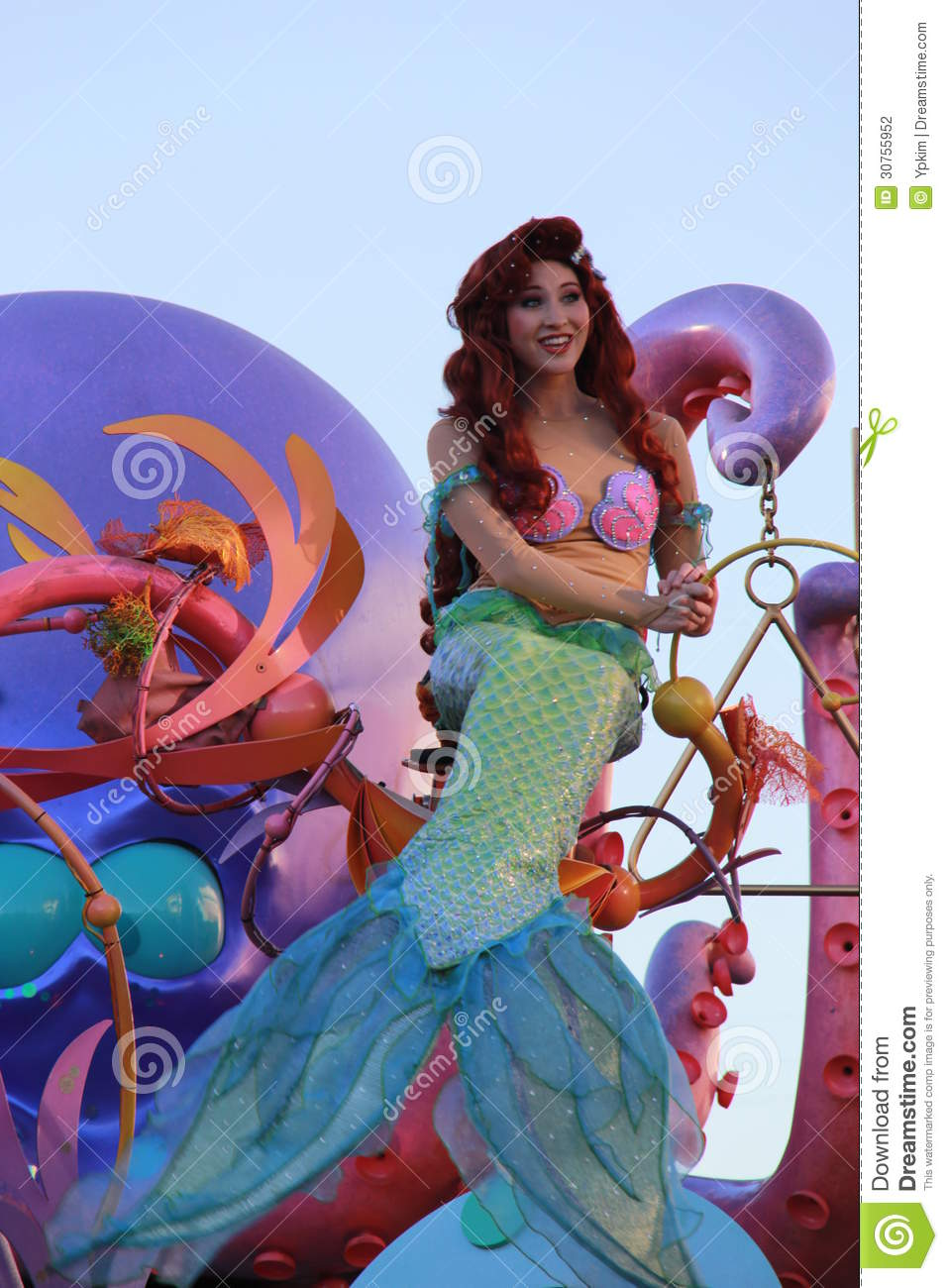 Disney princess ariel editorial photography image of download disney princess ariel editorial photography image of entertainment 30755952 altavistaventures Image collections