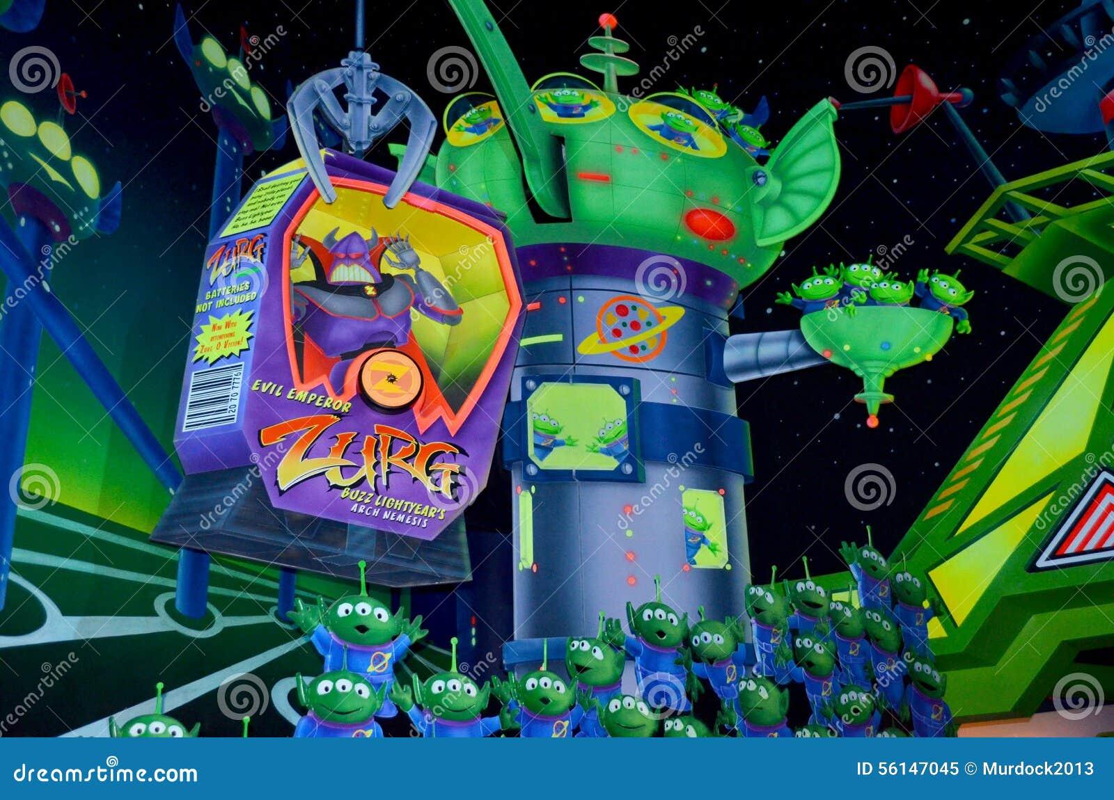 Disney ronza l 39 attrazione di anno leggero immagine - Ronzio lightyear colorante ...