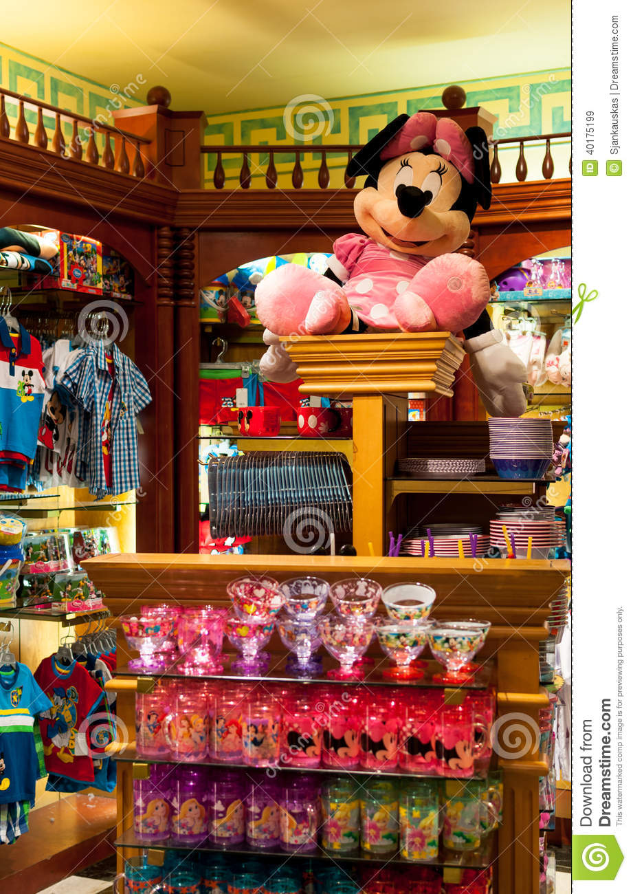 Toys For Boys Store : Disney store editorial stock image