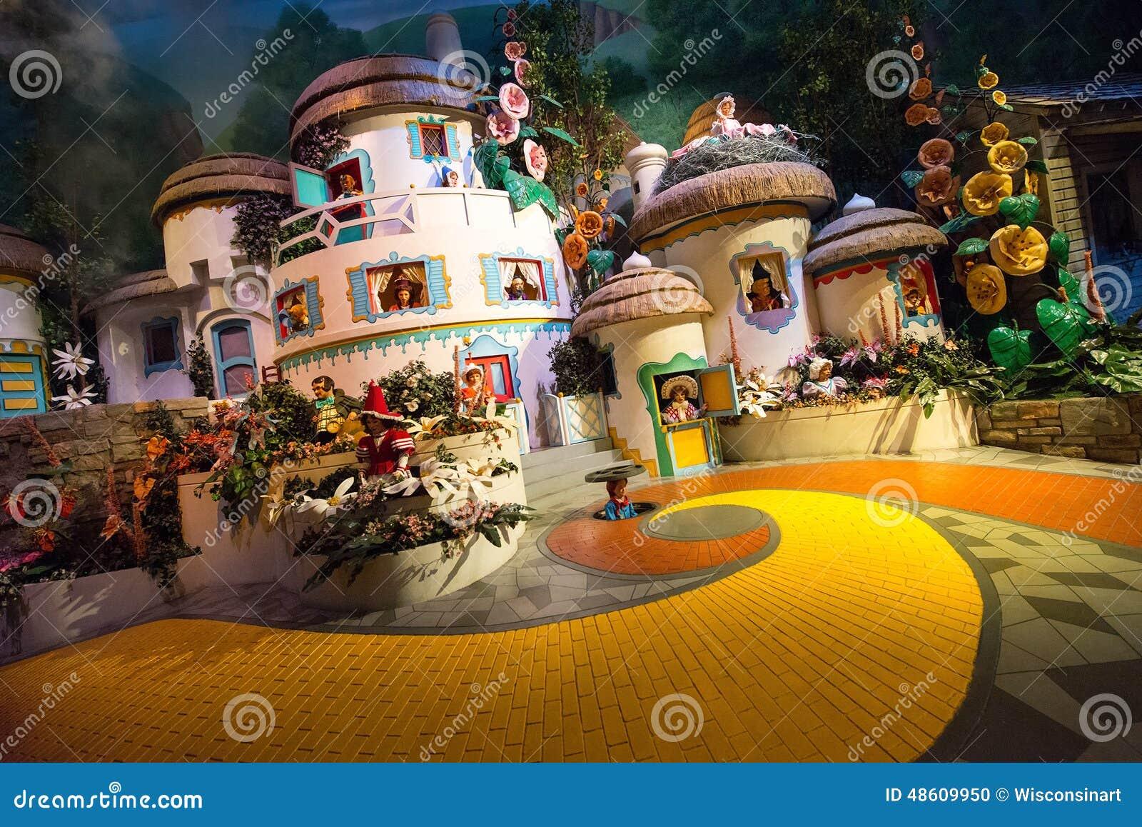 Disney-Weltzauberer Unze Munchkinland