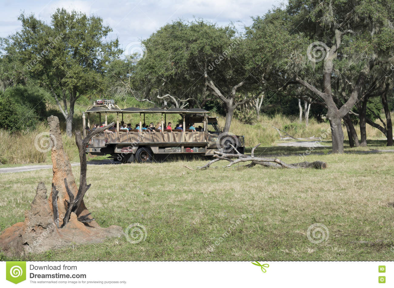 Disney-Wereld Kilimanjaro Safari Animal Kindom