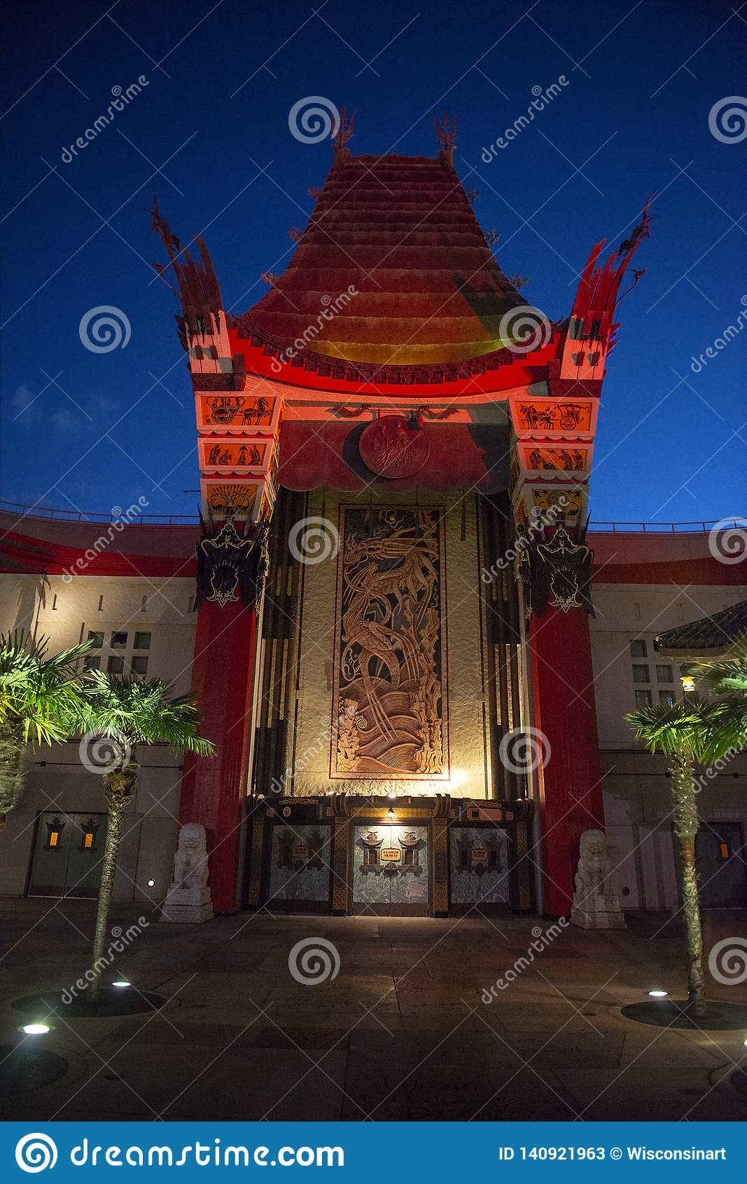 Disney World Hollywood studior, kinesisk teater