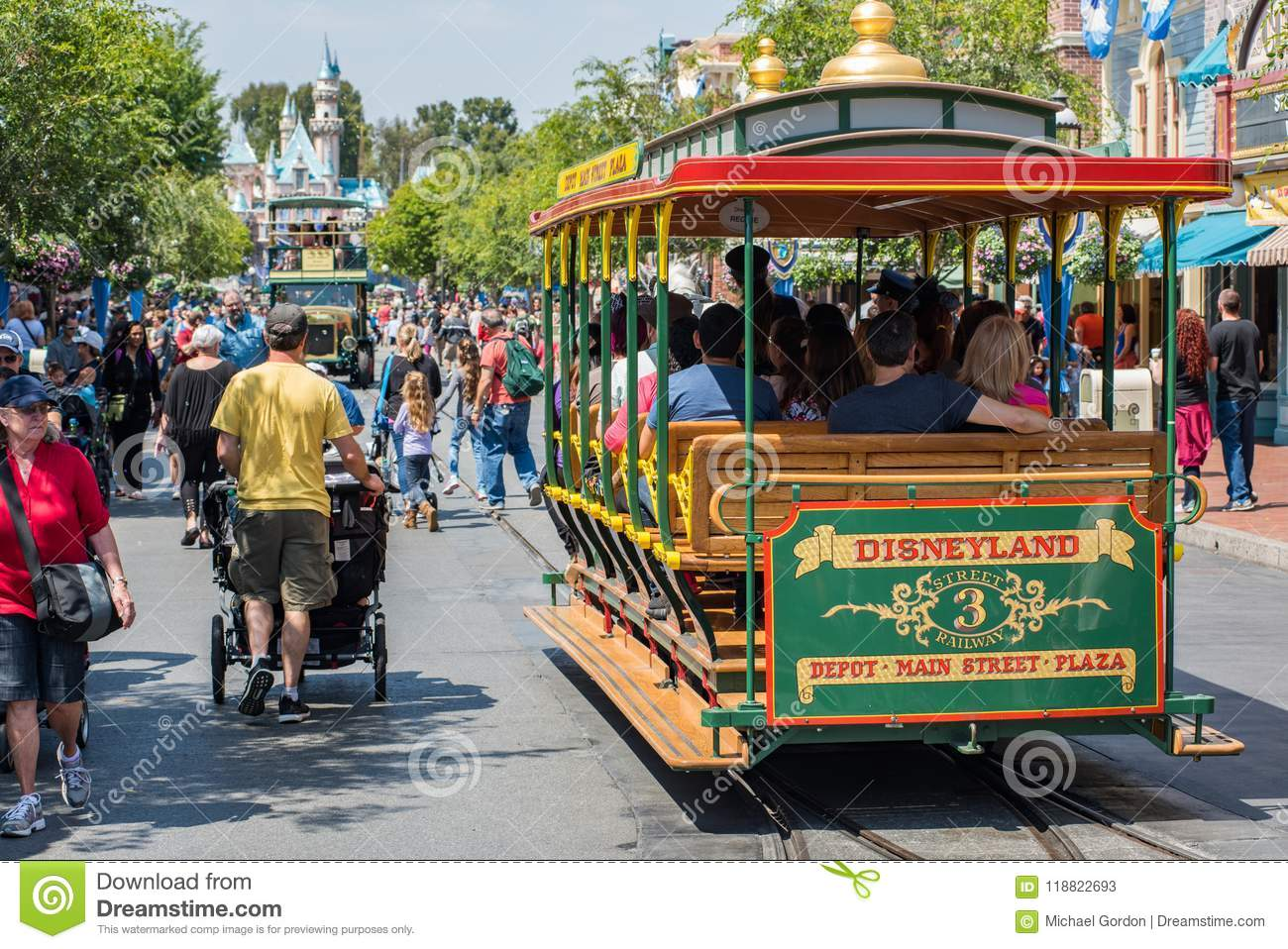 Disneyland in Anaheim, Kalifornien
