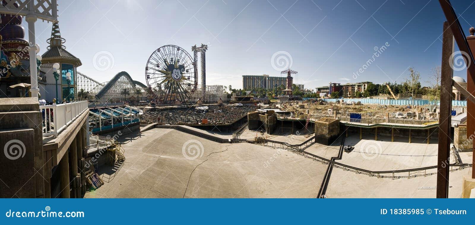 Disneyland California Adventure Construction Panor