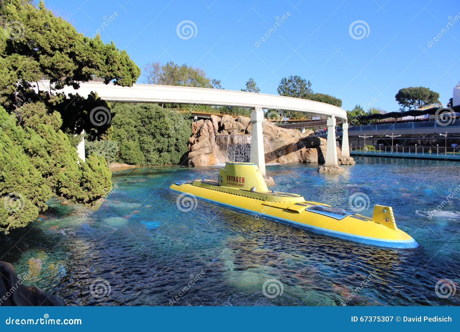 Disneyland, das Nemo Submarine Voyage findet
