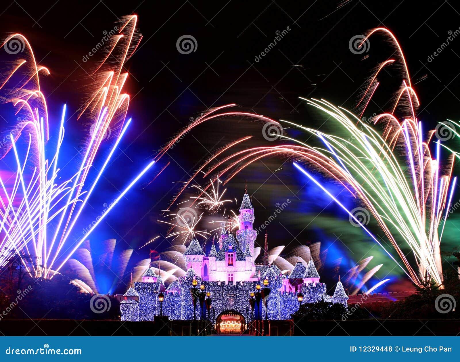 Disneyland fyrverkerier