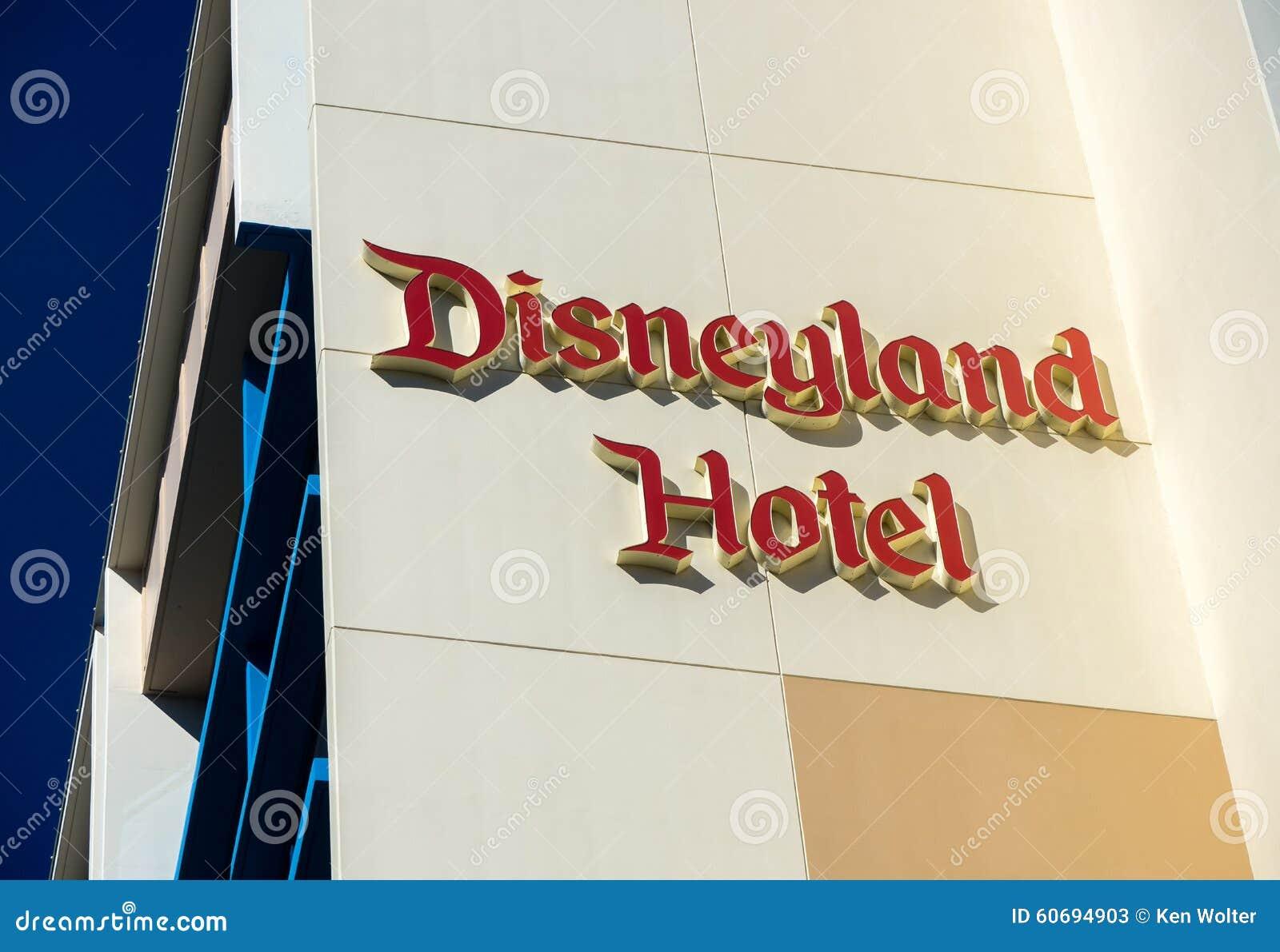 Disneyland Hotelbuitenkant
