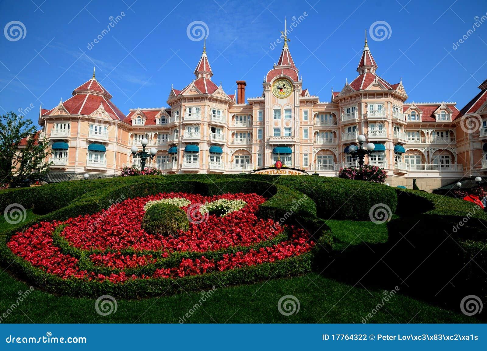 Disneyland ingångsparis park till