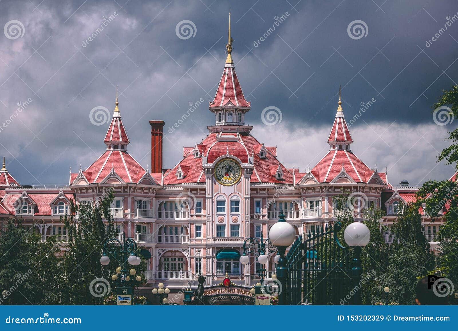 Disneyland Paris entrou