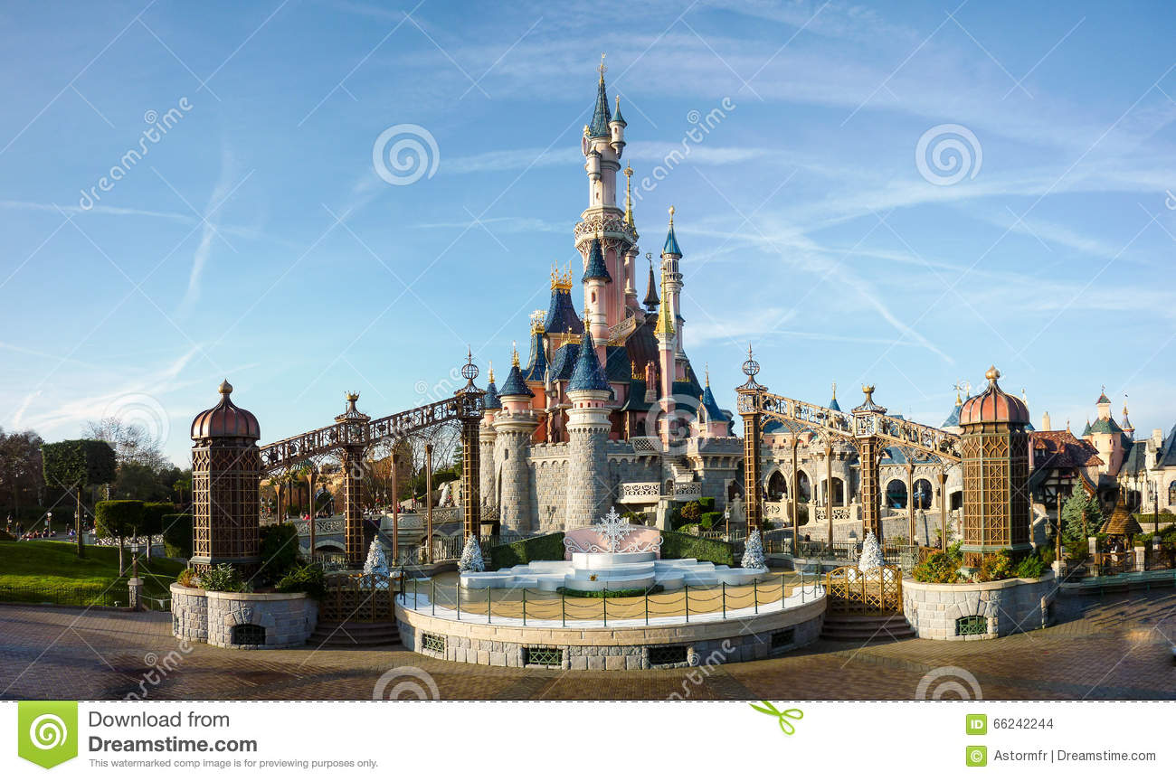 DISNEYLAND PARIS prinsessa Castle