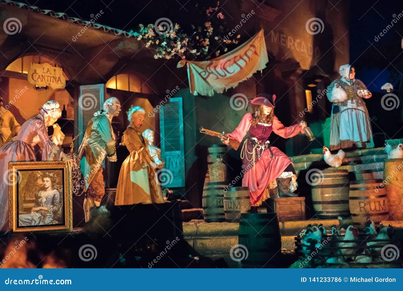 Disneyland Resort nöjesfält i Anaheim, Kalifornien