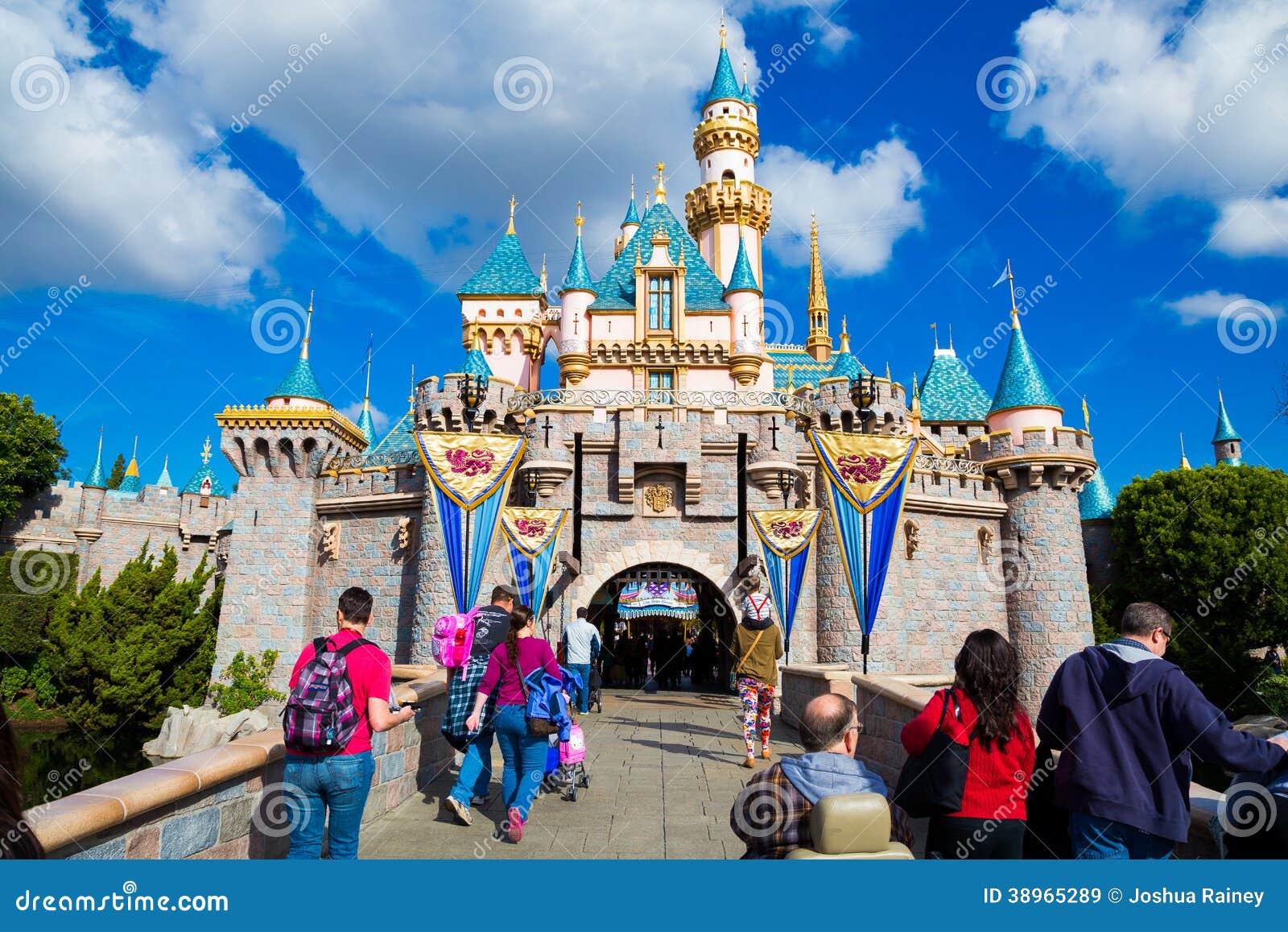 Disneyland rosa färgslott